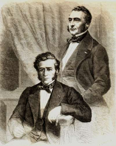 Emile et Isaac PEREIRE copyright Association Chatou Notre Ville - Collection Pierre Arrivetz.jpg